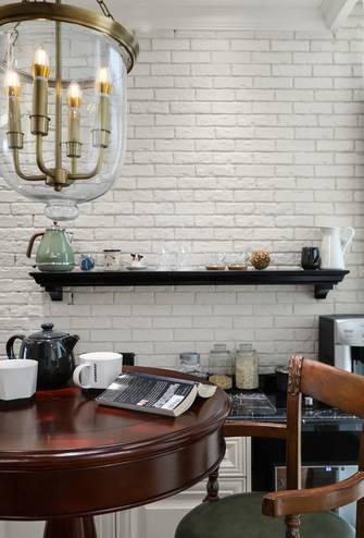 富裕型110平米一室一厅中式风格厨房图片大全