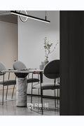 豪华型110平米三室两厅现代简约风格餐厅欣赏图