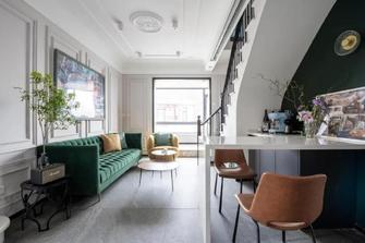 100平米复式法式风格客厅图
