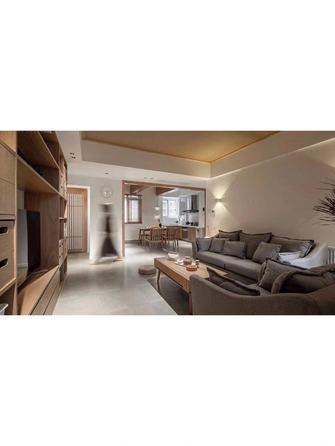 经济型90平米三室一厅北欧风格客厅图