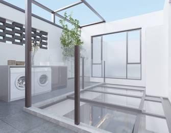 豪华型140平米别墅现代简约风格阳光房装修案例