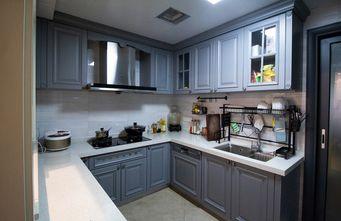 富裕型130平米三室两厅美式风格厨房装修案例