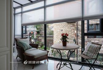 豪华型140平米别墅美式风格阳光房欣赏图