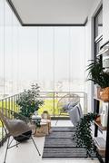 豪华型70平米欧式风格阳台装修效果图