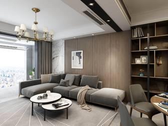 20万以上140平米四室一厅现代简约风格客厅图