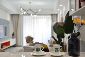 富裕型70平米现代简约风格餐厅设计图