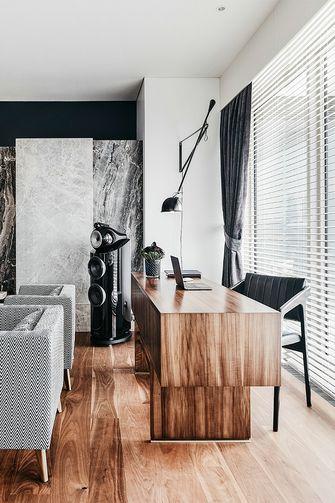 豪华型100平米三室两厅港式风格书房装修案例