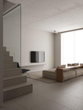 经济型60平米三室一厅北欧风格客厅图片