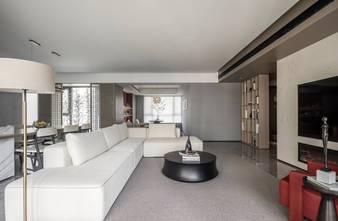 20万以上140平米四室一厅现代简约风格客厅装修案例