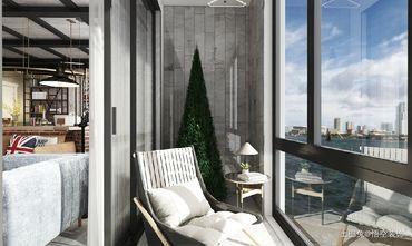 豪华型140平米四工业风风格阳台欣赏图