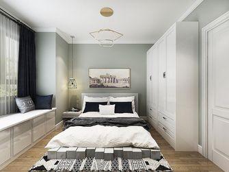 一室一厅英伦风格卧室装修效果图