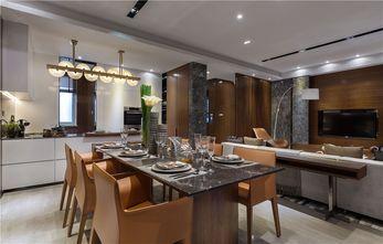 140平米别墅北欧风格餐厅设计图