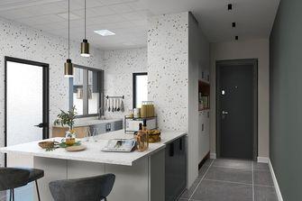 100平米三室三厅现代简约风格厨房欣赏图