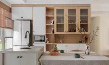 10-15万100平米三室一厅日式风格厨房装修图片大全