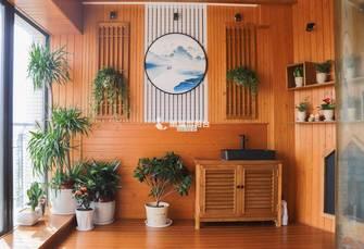 中式风格阳台装修图片大全