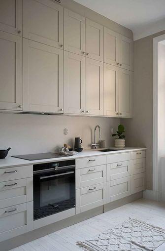 5-10万90平米公寓现代简约风格厨房图