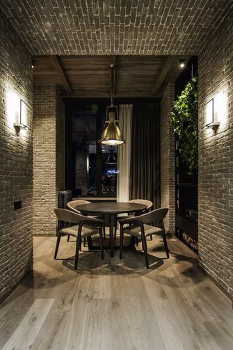 15-20万80平米一室一厅工业风风格餐厅图片大全