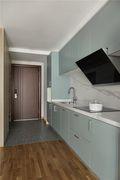 经济型50平米小户型现代简约风格厨房设计图