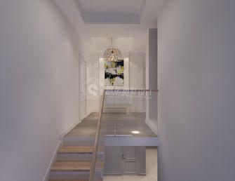 140平米复式现代简约风格楼梯间图片
