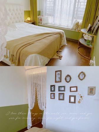 富裕型100平米三室一厅混搭风格卧室图