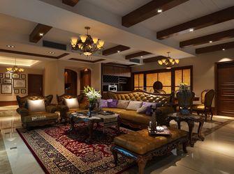 140平米四美式风格客厅装修案例