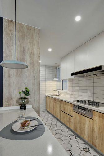 富裕型100平米三室两厅现代简约风格厨房图片大全