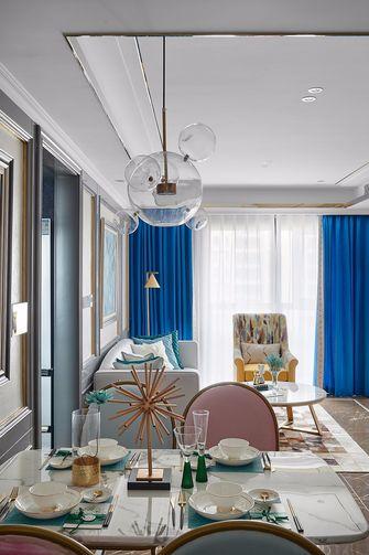 豪华型140平米四室一厅法式风格餐厅效果图
