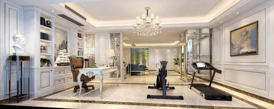20万以上140平米别墅欧式风格健身房设计图