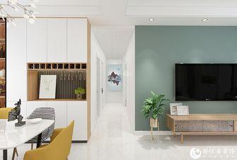 经济型90平米三室两厅北欧风格走廊装修图片大全