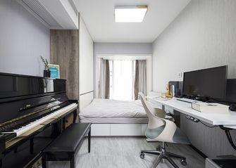 15-20万110平米三室一厅现代简约风格书房设计图