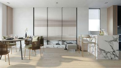 豪华型140平米复式现代简约风格餐厅装修效果图