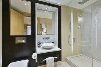 10-15万100平米三室一厅田园风格卫生间欣赏图