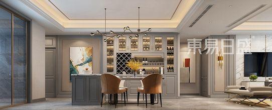 130平米三美式风格餐厅图片大全