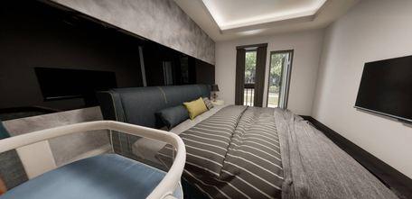 50平米一居室轻奢风格卧室图