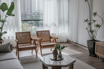 10-15万120平米三室两厅法式风格客厅装修案例