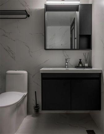 110平米三室两厅混搭风格卫生间欣赏图
