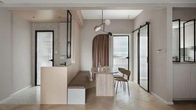 经济型110平米三室一厅现代简约风格餐厅装修效果图