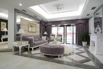 豪华型140平米别墅新古典风格客厅装修案例