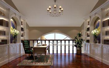 20万以上140平米别墅欧式风格书房图