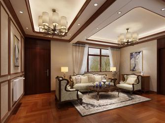 20万以上140平米别墅中式风格阁楼图