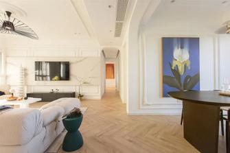 富裕型140平米四室两厅法式风格走廊图片大全
