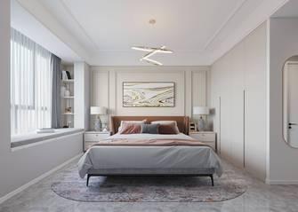 豪华型110平米三室两厅法式风格卧室装修案例
