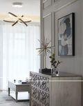 富裕型140平米三室两厅美式风格玄关效果图