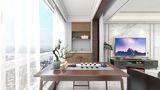 20万以上140平米三室两厅中式风格阳台欣赏图