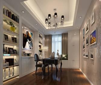 豪华型120平米三室两厅新古典风格书房欣赏图