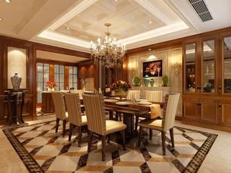 20万以上140平米别墅欧式风格餐厅效果图