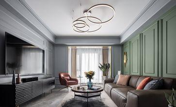 20万以上130平米三室两厅轻奢风格客厅装修图片大全