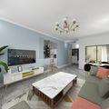 3-5万100平米现代简约风格客厅设计图