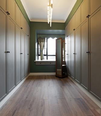 100平米三室两厅北欧风格衣帽间图