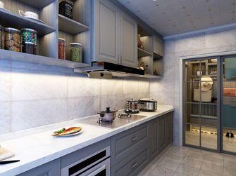 130平米三室两厅轻奢风格厨房欣赏图